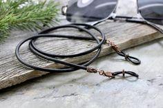 Rustic Braided Leather Eyeglass Holder, Mens Eyeglass Chain, Glasses Chains, Men's Leather Sunglasses Chain, Accessories Gifts for Men Braided Leather, Leather Chain, Leather Cord, Black Leather, Leather Lanyard, Mens Braids, Eyeglass Holder, Chains For Men, Eyeglasses