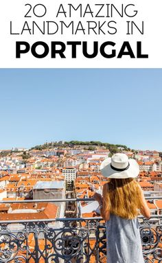 20 Incredible Landmarks in Portugal. Photographing this Lisbon landmarks is one of the top things to do in Lisbon. The tower itself is on the northern banks of the Tagus River in Lisbon and was designed to defend Lisbon from attack. #travel #europe #portugal #lisbon Solo Travel Europe, Travel Route, Europe Travel Guide, Famous Monuments, Famous Landmarks, Romantic Vacations, Romantic Travel, European Destination, European Travel