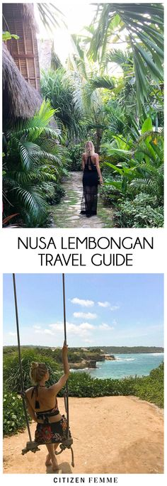 Nusa Lembongan is a small island (8km2) in the southeast of Bali and only a 30 minute boat ride away. Even though one of it's sister island, Nusa Penida, is 200km bigger, Nusa Lembongan is by far the most popular. Enjoy my 'insider's travel guide to Nusa Lembongan travel –  where to eat, sleep, drink and what to do for a complete trip! #jetset #travel