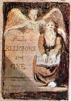 William Blake | All Religions are One | 1795 | Relief Etching