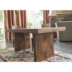 Timbergirl Handcrafted Solid Seesham Timbergirl Dining Table (India) - Free Shipping Today - Overstock.com - 15697924 - Mobile