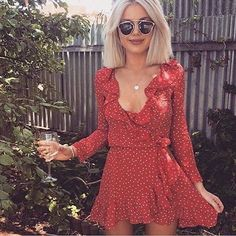 Our Red Realisation Dress is available this weekend for hire along with heaps of other outfits!! Book now ✨✨✨✨