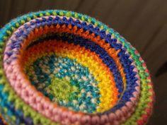Sculptural Crochet Nest of Bowls (wip) ~ designed & handmade by Elvira Jane.