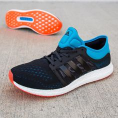 adidas Climachill Rocket Boost: Black/Solar Blue