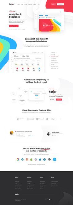 Landing app  landing  product page  redesign  web  website