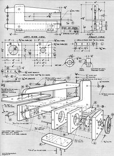 #2759 HomeMade Scroll Saw Plans - Scroll Saw