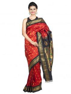 online paithani silk saree