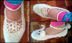 Aprende a hacer pantuflas de polar y tejidas. Tutorial completo y gratuito en http://blog.detallefemenino.com/