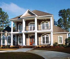Plantation Home...this is seriously the home of my Dreams!!!!!!!!! Its gorgeous. My fav. Style