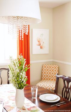 Dining Room Makeover With Lots Of Great DIY Tips And Ideas! Dining Room  Colors,