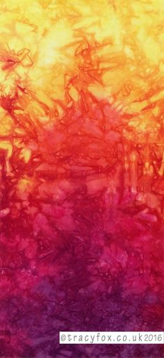 #unique #handdyed panel available to buy from #tracyfox ideal framed or as a wall hanging