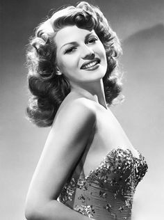 Rita Hayworth photographed for You Were Never Lovelier (1942)