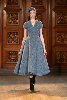 Emilia Wickstead: Runway - London Fashion Week AW14