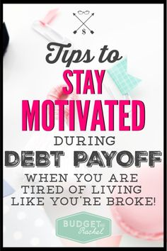 Debt payoff can feel like it is taking forever! Sometimes I seriously lose motivation. These helpful tips to stay motivated during debt payoff are so Ways To Save Money, Money Tips, Money Saving Tips, Saving Ideas, Budgeting Worksheets, Budgeting Tips, Cash Envelope System, Thing 1, Get Out Of Debt