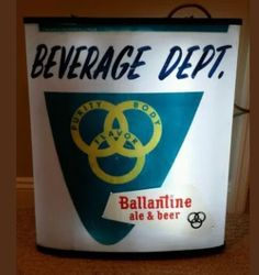 Ballantine Beer Sign