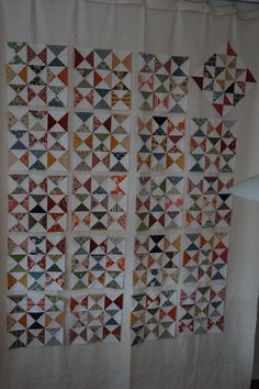 ideas for hourglass quilt layouts.