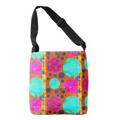 Cool Punk style with retro pattern Crossbody Bag