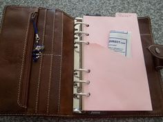 It's My Life!: How To Make A Divider Pocket for your filofax