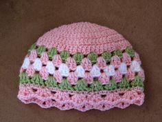crochet granny baby hat   pattern http://suzies-yarnie-stuff.blogspot.com/2008_03_01_archive.html