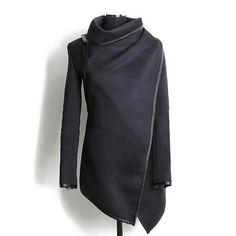 Elegant and cozy fall jacket