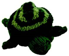 This topsy-turvy knit toy transforms from an egg into a turtle!