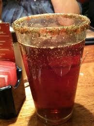 Happy Trail Christmas Ale at Sweetwater Tavern...garnished with gingersnaps and sprinkles :)