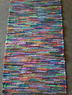 Woven Rug by Patty Martinson-Fassino