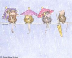 """Mudpie, Maxwell, Muzzy and Amanda"" from House-Mouse Designs"