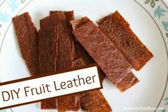 Easy fruit leather recipe to make at home ---> Good Healthy Food: Fruit Leather Recipe {Kids Love}