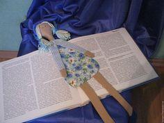 Закладка кукла Ярмарка Мастеров - ручная работа, handmade  Наталия Каталина(Платонова)(kanape).