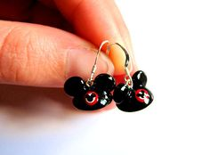 Mickey Mouse Clubhouse Inspired Earrings on Etsy