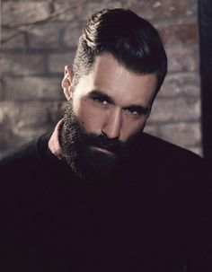 .Handsome, Dark and Bearded. (Beards, Beardrevered, Bearded, Sexy, Men