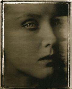 Sarah Moon  Julie Stouvenel, 1989  FromCoïncidences