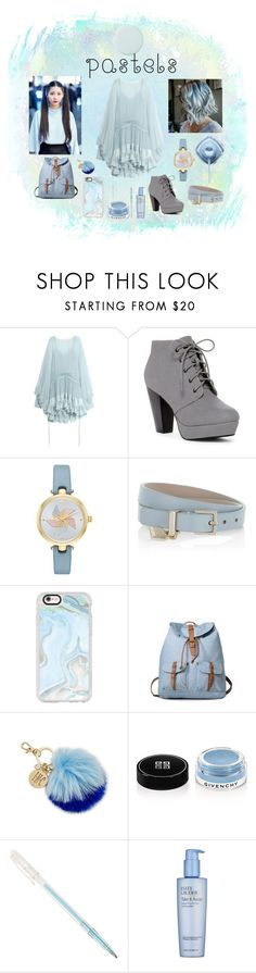 """""""Pastel ♥ #3"""" by yologirl4233 ❤ liked on Polyvore featuring Chloé, Kate Spade, BOSS Hugo Boss, Casetify, INC International Concepts, Givenchy and Estée Lauder"""