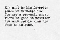 """typewrittenword:    """"Unrequited Love Poem"""" by Sierra DeMulder"""