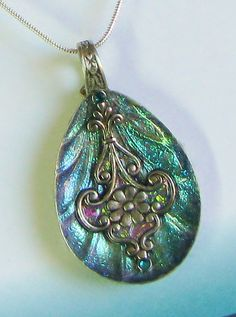 Spoon Necklace Spoon Pendant Antique Silver by SpoonfestJewelry, $35.00