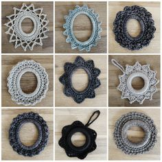 Crochet Frames / hanging ornaments    Hello!  Aren't we lucky?! We've spent the past 5 Christmases in 5 different places namely Dubai, Kat...