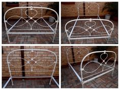 Antique wrought iron double bed frame for sale R1195Available from a Moving On sale in Equestria. Visit MovingOn for more information and how to secure these items or reply via gumtree.