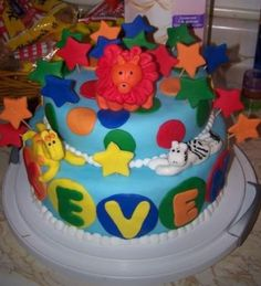 Baby shower cake, it only took 18 hours.