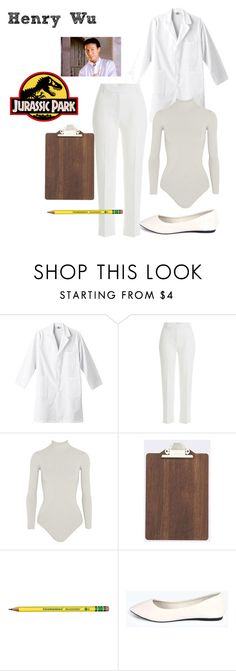 """""""Henry Wu - Jurassic Park"""" by ashleigh-kuzio on Polyvore featuring 3.1 Phillip Lim, Body Editions, ferm LIVING and Boohoo"""
