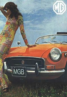 Hung Up On Retro: MG 1970's Posters & Ads