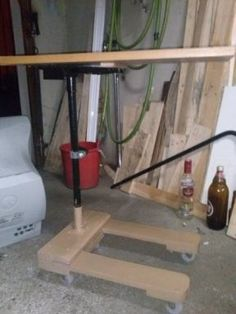 Pallet Extendable Table