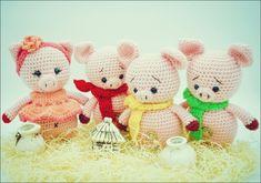 Crochet Amigurumi Free Patterns, Crochet Bear, Free Crochet, How To Start Knitting, Learn To Crochet, Basic Crochet Stitches, Crochet Motif, Free Sewing, Free Knitting