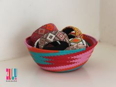 BAKABAKA - Zulu Woven Telephone Wire Bowl Large - red/pink/orange/green by ZuluBeadz on Etsy Zulu, Good Cause, African Jewelry, Orange, Telephone, Red And Pink, Happy Shopping, Jewellery, Etsy