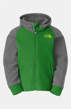 The North Face 'Glacier' Hoodie (Toddler) available at Nordstrom