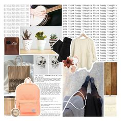 """""""I was dreaming of more time."""" by w0lf-teeth ❤ liked on Polyvore featuring Palila, Herschel Supply Co., Falke, Maison Scotch, L.L.Bean, Clips, women's clothing, women's fashion, women and female"""