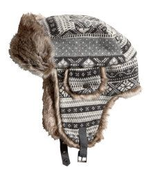 ab9b5241758 Trapper Hat with Earflaps  Maybe! Sunday Clothes