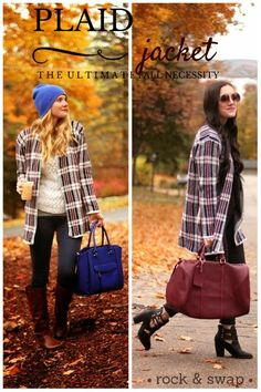 Rocked it & Swapped it #Plaid