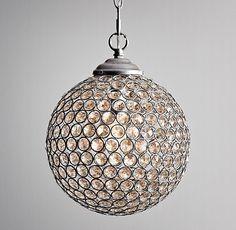 "9"" Claridge Crystal Pendant $139"