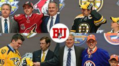 Terriers Enjoy Record First Round at NHL Draft with four current players being selected in the top 19 picks.